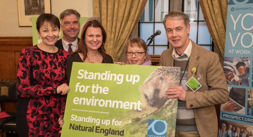 Speakers at Natural England Parliament event 110319