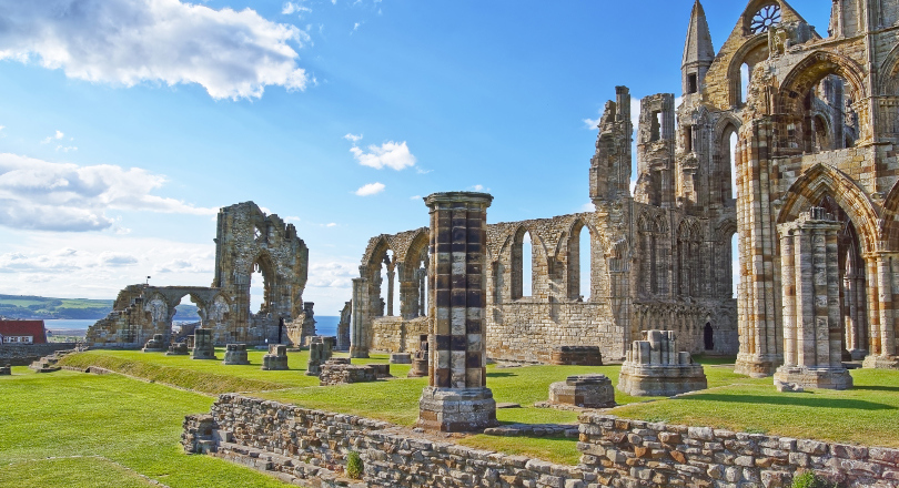 Whitby Abbey - English Heritage site