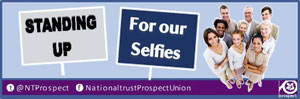 National Trust selfie logo